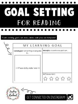 Goal setting for Reading