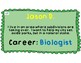 Goals & Career Dreams Wall Cards
