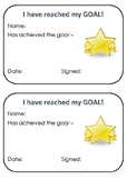 Goals Certificate