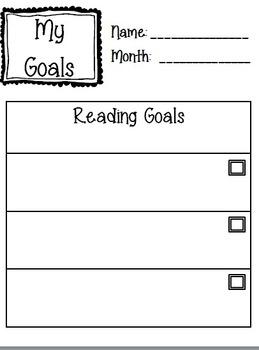 Goals Checklist 2