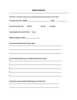 Goals Contract