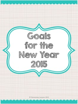 Goals For The New Year