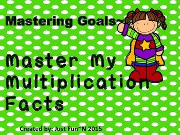 Goals (Meeting Multiplication Facts)