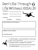 Goals/Motivation Worksheet First Day Free