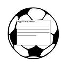 Goals On a Soccer Ball