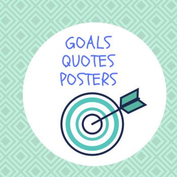 Goals Posters (8.5 x 11)