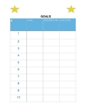 Goals, Projects, To Do List