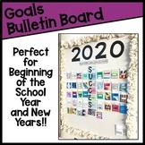 Goals Success Bulletin Board with Editable PowerPoint