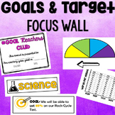 Goals & Target Data Focus Wall: Track Our Success