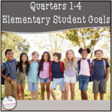 Goals Tracking- Quarters 1-4