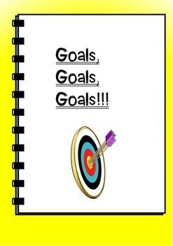 Goals Worksheet for Middle School Students