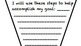 Goals Writing Prompt Pennant/Flag