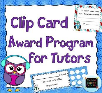 Goals and Award Program