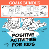 Goals and Dreams Writing or Discussion Prompts BUNDLE