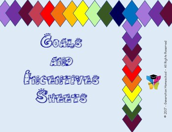Goals and Incentives Planning Sheets