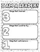 Goals and Lists for Leadership - Coloring Activity Pages