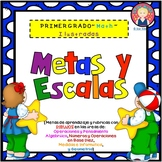 Goals and Scales for First Grade in SPANISH {Math, Kid Fri