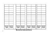 Goals and Score Recording Sheet