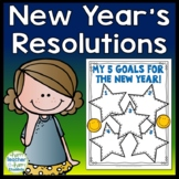 Goals for the New Year 2018: New Years Resolution FREEBIE