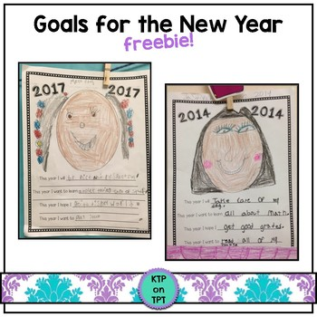 Goals for the New Year!  (a writing activity)