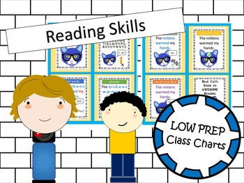 K-1st Goals in Reading - Printable Anchor Chart