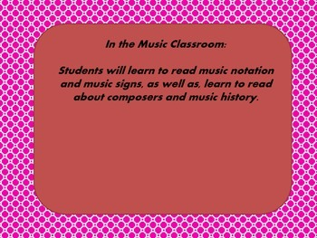 Goals of Common Core in Music Classroom