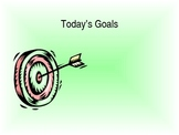 Goals poster/screen