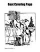 Goat Coloring Page Bundle