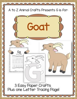 "Goat Craft and Letter ""G"" Craft"