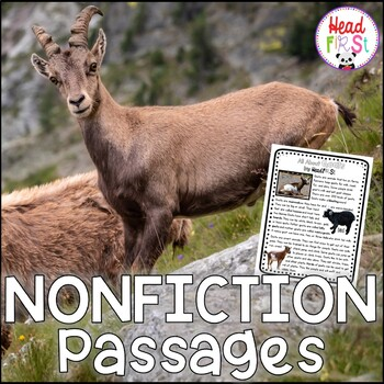 Distance Learning Goats Nonfiction Guided Reading Comprehension Fluency Passages