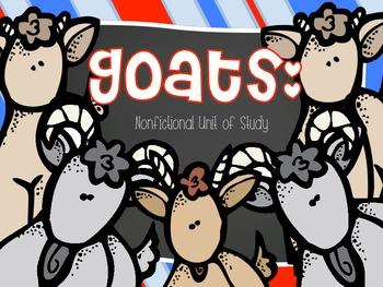 Goats: Nonfictional Unit