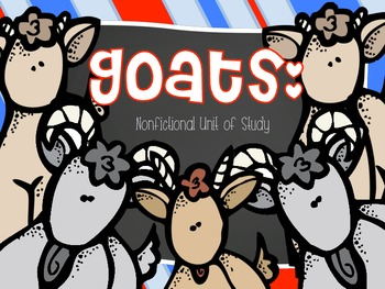 Goats: Nonfictional Unit