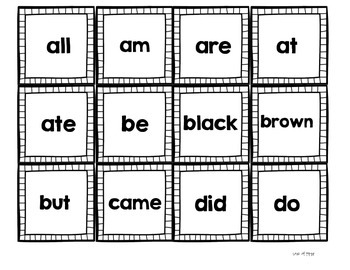 Gobble! A Primer Sight Word Game