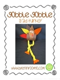 Thanksgiving Freebie - Gobble, Gobble, A 3D Turkey