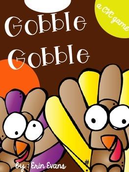 Gobble Gobble - A CVC Game Freebie