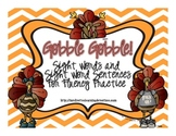 Gobble! Gobble! A Fluency Game for Sight Words and Sight Word Sentences