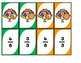 Fractions Game Uno-Inspired Thanksgiving Theme