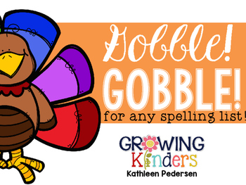 Gobble! Gobble! A Game for Any Word List!