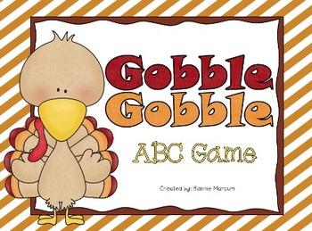 Gobble Gobble ABC Game