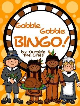 Gobble Gobble Thanksgiving Bingo!