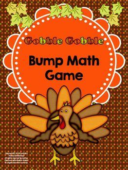 Gobble Gobble Bump Dice Game