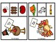 Gobble, Gobble Clip and Match Beginning Sounds A-Z
