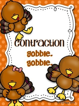 Gobble, Gobble Contractions