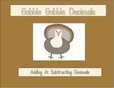 Gobble Gobble Decimals
