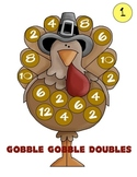 Gobble Gobble Doubles Addition Game