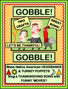 """Thanksgiving Fun!"" -- Active Song with ""Moves"", and TWO Crafts!"