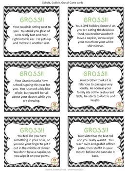 Social Skills: Thanksgiving