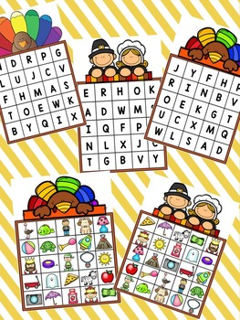 Gobble, Gobble Let's Find Some Turkey Letters!