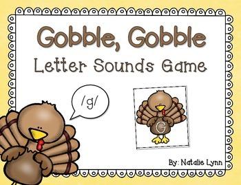 Turkey Letter Sounds Game