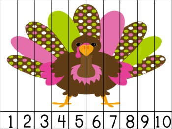 Gobble Gobble! Number Puzzles
